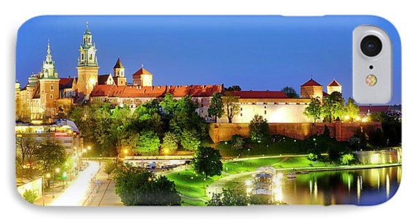IPhone Case featuring the photograph Wavel Castle by Fabrizio Troiani