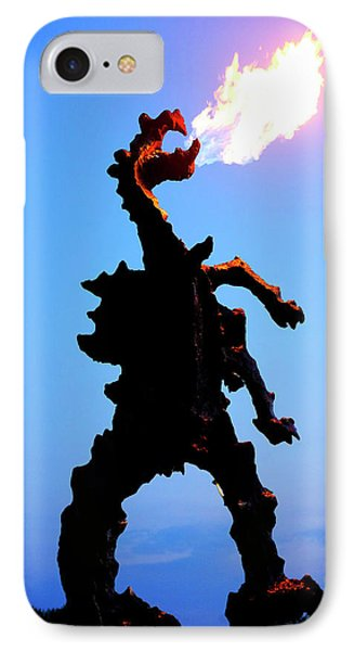 IPhone Case featuring the photograph Wavel Dragon by Fabrizio Troiani