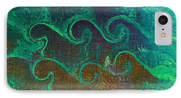 Wavelength IPhone Case by Aurora Art
