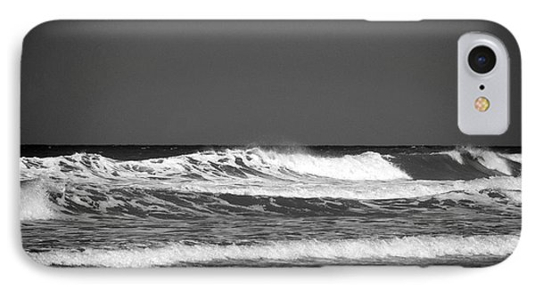 Waves 2 In Bw IPhone Case