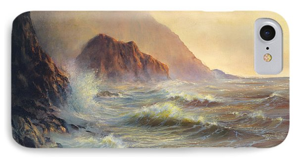 Waves After The Storm IPhone Case by Jeanette French
