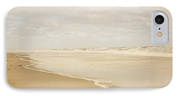 Waves Along The Shoreline IPhone Case by Juli Scalzi