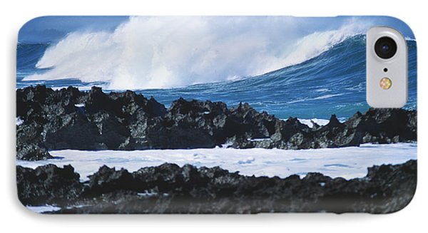 Waves And Rocks IPhone Case by Kyle Rothenborg - Printscapes