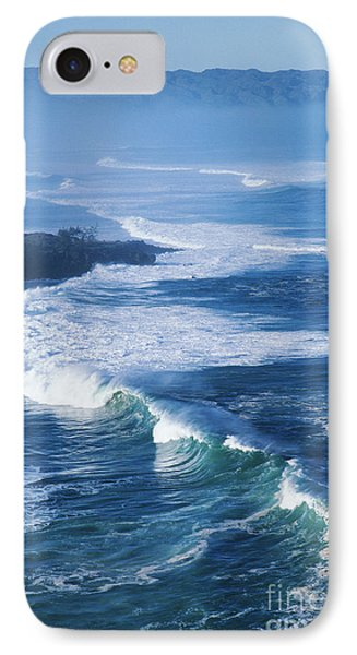 Waves At Waimea Bay IPhone Case by Ali ONeal - Printscapes