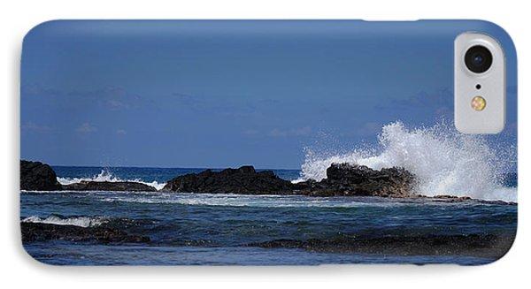 Waves Crashing IPhone Case by Pamela Walton