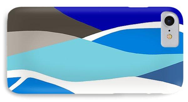 Waves Phone Case by Eloise Schneider