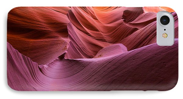 Waves-lower Antelope Canyon IPhone Case by Tim Bryan
