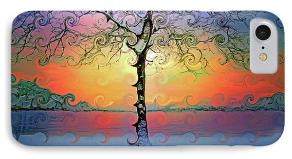 Waves Of Colour And Light IPhone Case by Tara Turner