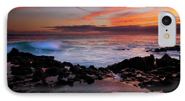 Waves Of Paradise Phone Case by Mike  Dawson