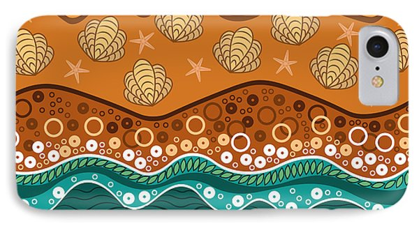 Shore iPhone 7 Case - Waves by Veronica Kusjen