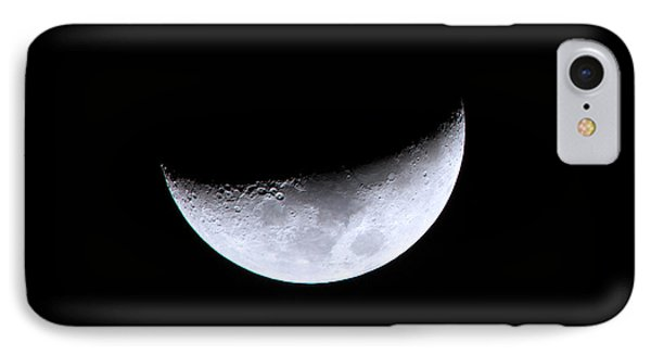 Waxing Crescent Night 4 IPhone Case by Mark Andrew Thomas