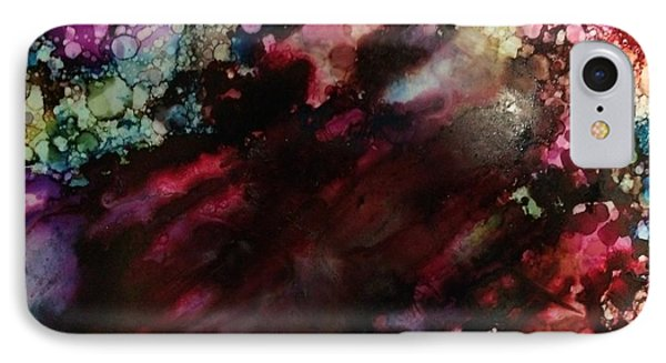 IPhone Case featuring the painting Way Out by Denise Tomasura