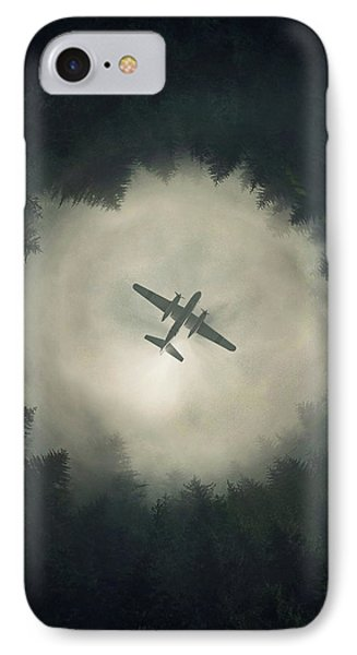 Airplane iPhone 7 Case - Way Out by Zoltan Toth