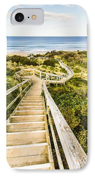 Way To Neck Beach IPhone Case by Jorgo Photography - Wall Art Gallery