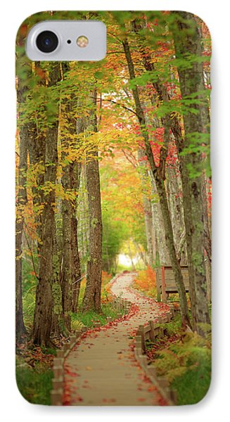 IPhone Case featuring the photograph Way To Sieur De Monts  by Emmanuel Panagiotakis