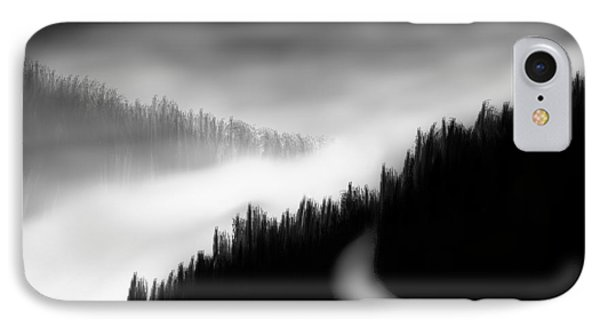 Way To The Unknown IPhone Case by Salman Ravish