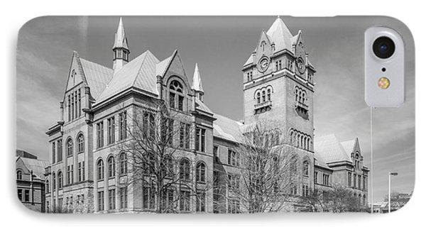 Wayne State University Old Main IPhone Case by University Icons