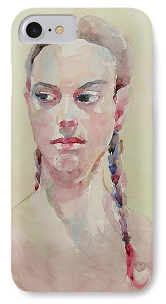 Wc Portrait 1619 IPhone Case by Becky Kim