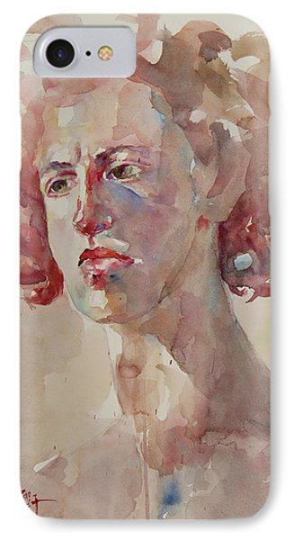 Wc Portrait 1621 IPhone Case by Becky Kim