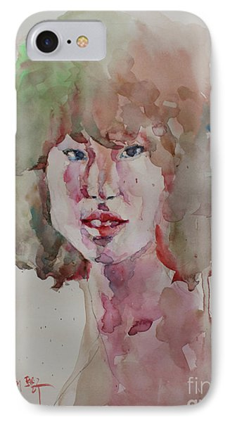 Self Portrait 1623 IPhone Case by Becky Kim