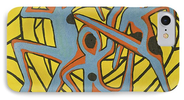 We Dance IPhone Case by Jose Rojas