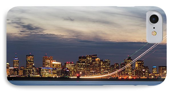 We Have Liftoff - Plane Taking Off From Logan Airport Boston Ma IPhone Case by Toby McGuire