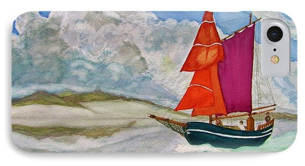 We Sailed Upon A Sea Of Glass IPhone Case by Rand Swift