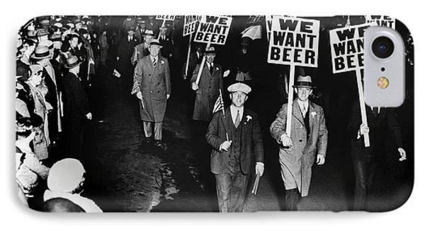 Beer iPhone 7 Case - We Want Beer by Jon Neidert