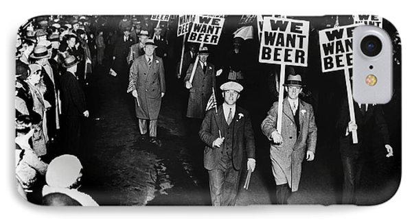We Want Beer IPhone Case by Jon Neidert