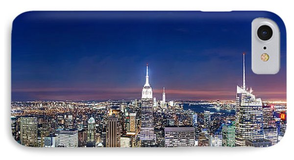 Chrysler Building iPhone 7 Case - Wealth And Power by Az Jackson