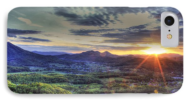 Wears Valley Tennessee Sunset IPhone Case