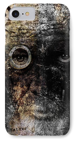 IPhone Case featuring the digital art Weary by Nola Lee Kelsey
