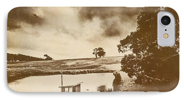 Weathered And Moody Old Farmland IPhone Case by Jorgo Photography - Wall Art Gallery