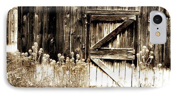 Weathered Barn Door IPhone Case by Gray  Artus