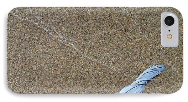 Weathered Feather  Phone Case by Michelle Calkins
