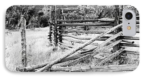 Weathered Fence Phone Case by Larry Ricker