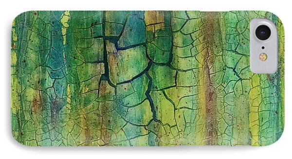 Weathered Moss IPhone Case by Alan Casadei