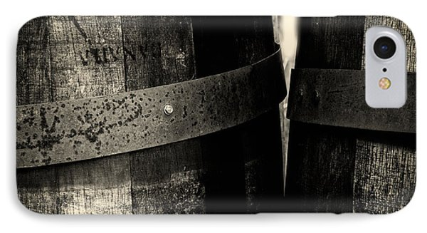 Weathered Old Apple Barrels IPhone Case by Bob Orsillo