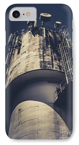 Weathered Water Tower IPhone Case by Jorgo Photography - Wall Art Gallery