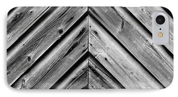 Weathered Wood IPhone Case by Larry Carr