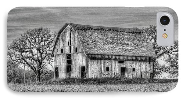 Weathered Wood Of Iowa IPhone Case