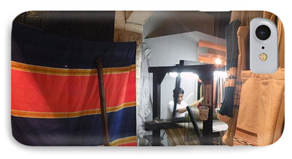 IPhone Case featuring the photograph Weaver In Playa Del Carmen by Dianne Levy