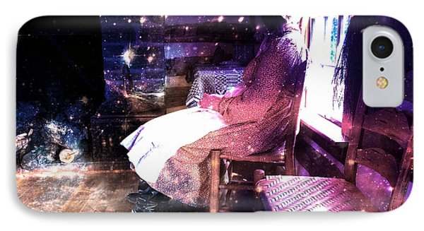 Weaver Of Lost Dreams  IPhone Case by Steven Digman
