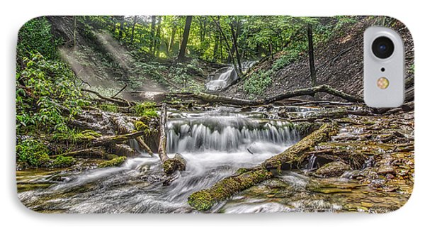 Weaver's Creek Falls IPhone Case by Irwin Seidman