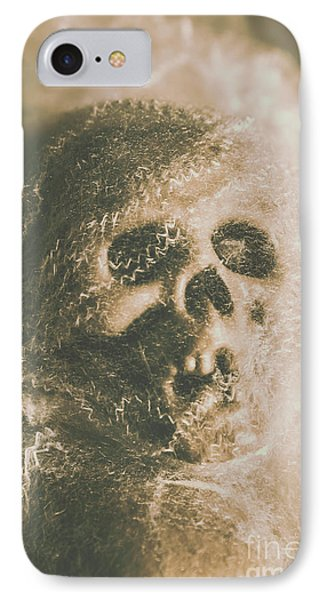 Webs And Dead Heads IPhone Case by Jorgo Photography - Wall Art Gallery