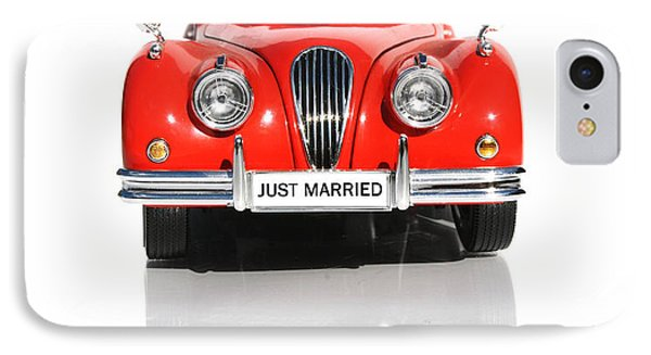 Wedding Car IPhone Case by Jorgo Photography - Wall Art Gallery