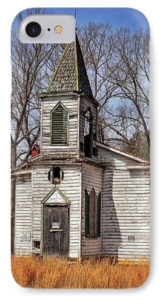 IPhone Case featuring the photograph Wedding Chapel by Alan Raasch