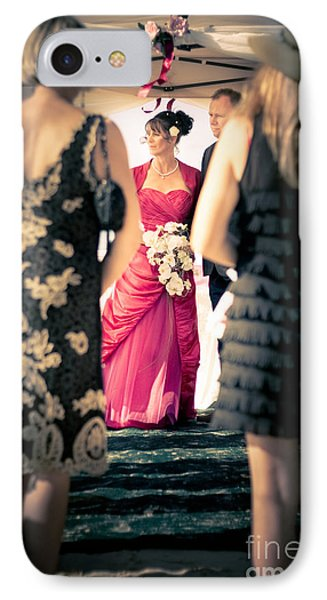 Wedding Couple IPhone Case by Jorgo Photography - Wall Art Gallery
