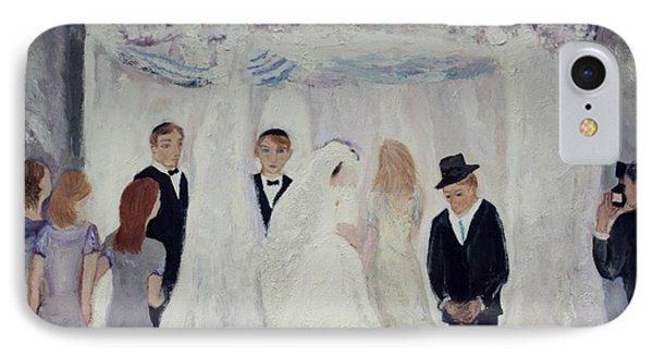 Wedding Day IPhone Case by Aleezah Selinger