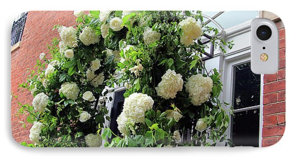 Wedding Flowers On Decatur House IPhone Case
